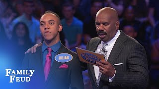 Video Can the Allens win it ALL? | Family Feud MP3, 3GP, MP4, WEBM, AVI, FLV Juni 2018