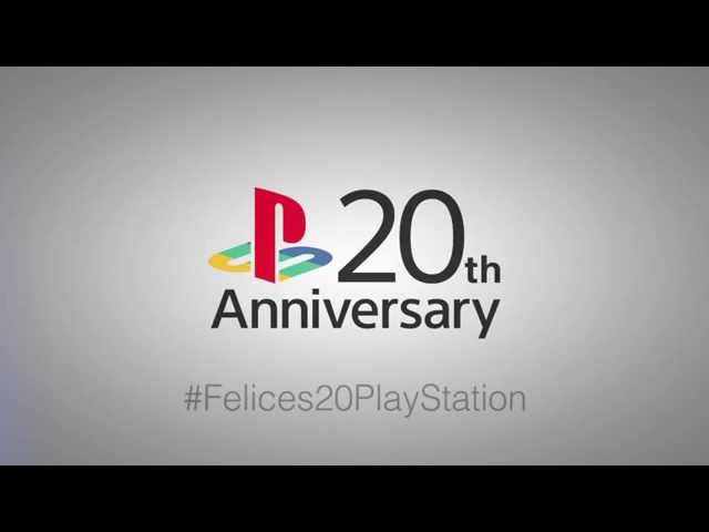 #Felices20PlayStation