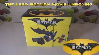 The Lego Batman Movie Unboxing