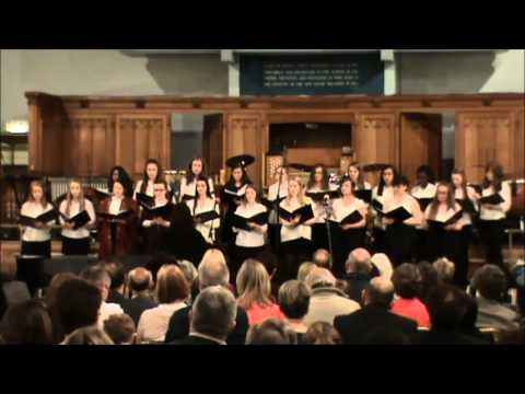 May Serenade 2015 - Hushabye Mountain, Senior Choir