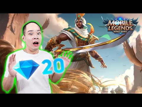 Main Hero Terbaru Khaleed Hanya 20 Diamonds - Mobile Legends