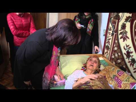 Margareta Timofti a vizitat azilul pentru persoane în vârstă și cu dizabilități din Drăgănești, Sângerei