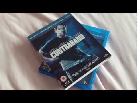 Contraband Blu-ray unboxing