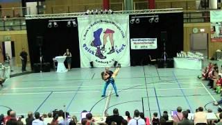 Carolin Diepenbruck & Aljoscha Diepenbruck - Nordbayerische Meisterschaft 2014