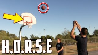 Download Lagu Crazy Game Of H.O.R.S.E! IRL Basketball Challenge Mp3