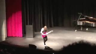 "Video 16 YEAR OLD KILLS ""Eruption""and ""Sweet Child o Mine"" IN SCHOOL  TALENT SHOW!!! MP3, 3GP, MP4, WEBM, AVI, FLV Desember 2017"