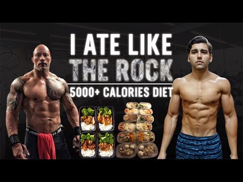 "I Tried Dwayne ""THE ROCK"" Johnson's DIET"