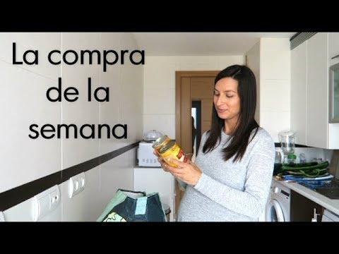 COMPRA SEMANAL   ALIMENTACIÓN DURANTE EL EMBARAZO @rosapastelvlog