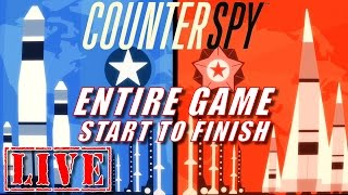 Gameplay starts at 01:40CounterSpy LIVE.  Thanks for stopping by.Completing the game start to finish.Like and subscribe for more videos/livestreams.Check out these channels:SCRUFFY_JC: https://www.youtube.com/c/SCRUFFYJCvaughanyl: https://www.youtube.com/user/vaughanylPAPLOO968: https://www.youtube.com/user/paploo968