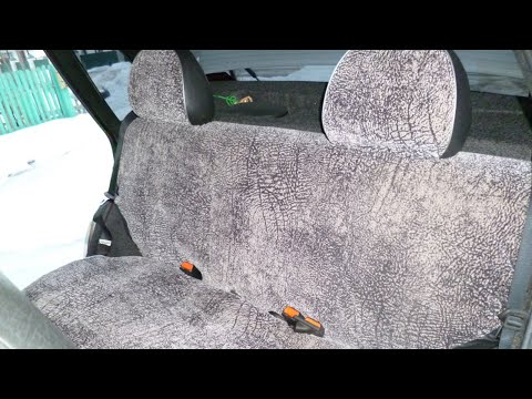 Задние сиденье от ваз 2110 в ваз 2109 фотография