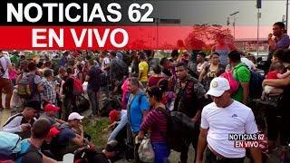 Impiden paso de migrantes en México. – Noticias 62. - Thumbnail