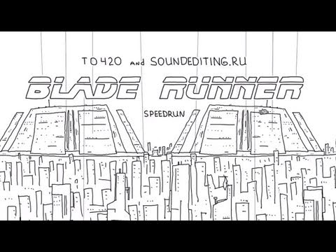 1A4 STUDIO Speedrun: Blade Runner in 60 seconds Animation | Video