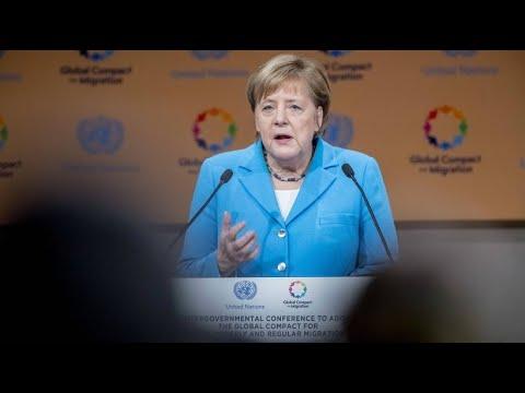 UN-Migrationspakt unterzeichnet - Merkel: