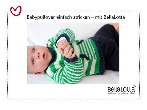 Babypullover einfach stricken – mit BellaLotta