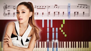 Ariana Grande - Santa Tell Me - Piano Tutorial + Sheets
