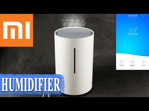 Xiaomi CJJSQ01ZM умный увлажнитель воздуха 💨 с WiFi и UV-CCL