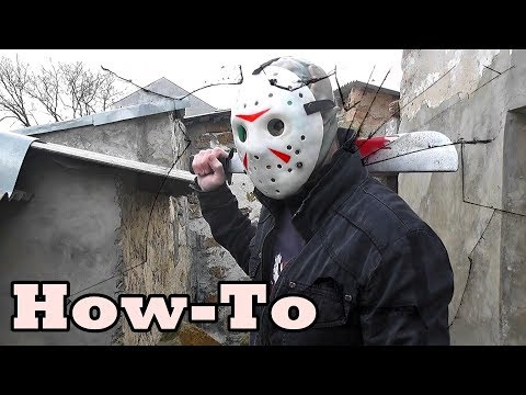 How to make а Jason Voorhees Mask/Costume Tutorial/Mortal Kombat XL/Friday the 13th