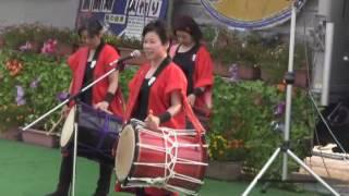 羽黒H28夏祭り1・羽黒児童センター和太鼓