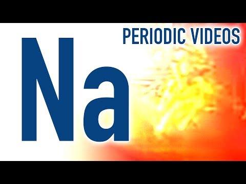 Sodium - Periodic Table of Videos