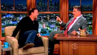 Video Ricky Gervais on Craig Ferguson - Hilarious Interview MP3, 3GP, MP4, WEBM, AVI, FLV Januari 2018
