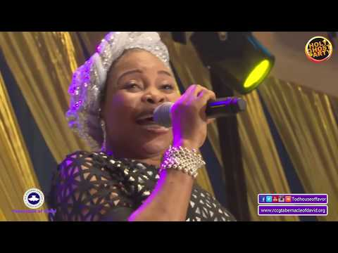 Tope Alabi @the October 2019 Holy-Ghost Party