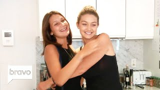 Video Gigi & Bella Hadid Before They Were Stars | Real Housewives of Beverly Hills | Bravo MP3, 3GP, MP4, WEBM, AVI, FLV September 2019