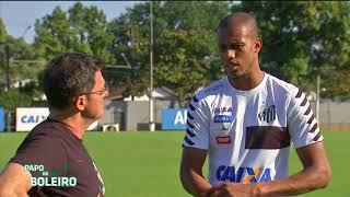 O atacante colombiano do Santos Jonathan Copete relembra um pouco de sua carreira com o repórter Fernando Fernandes.