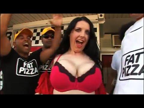 Angela White (Ruby aka Mama Juggs) Fat Pizza collection (видео)