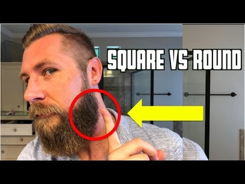 Beard styles - Square Vs Round  Beard Shape Matters!!!!