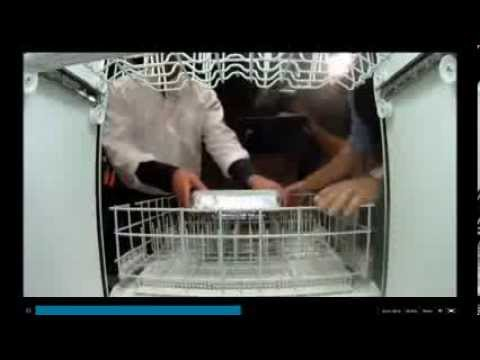 Alton Brown from Food Network joins The Mythbusters to test culinary myth of cooking lasagna in a dishwasher