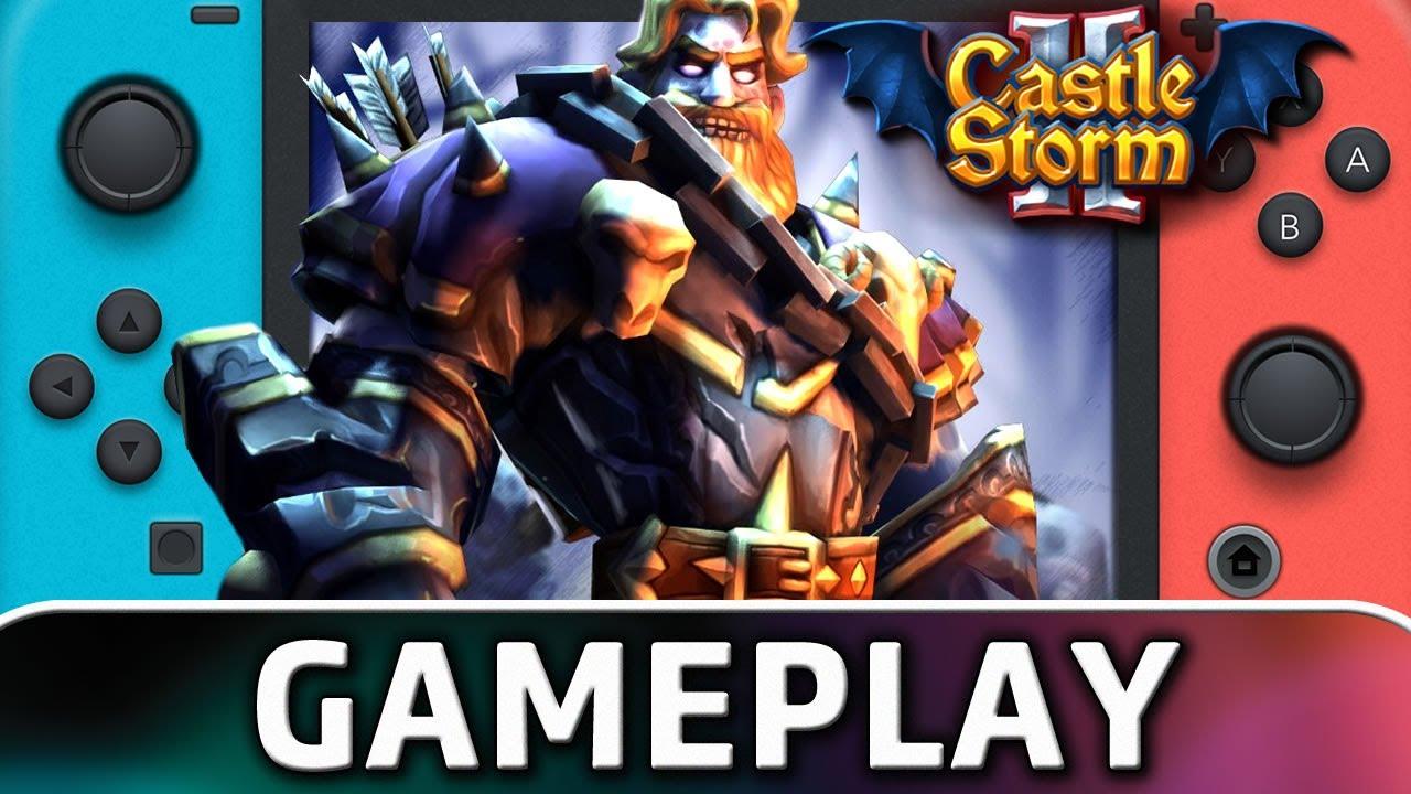 CastleStorm II   Nintendo Switch Gameplay