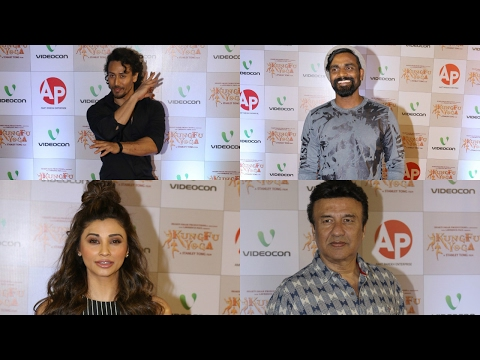 Tiger Shroff, Remo D'Souza And Many Other Attends Red Carpet Of KungFu Yoga Screening