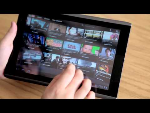 Acer Iconia A500 Tablet Android 3.0 OS (Honeycomb) Review