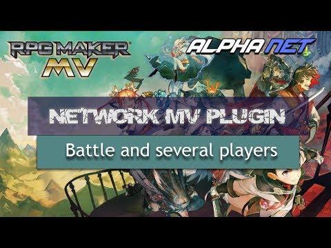 RPG Maker MV Multiplayer Battle Test