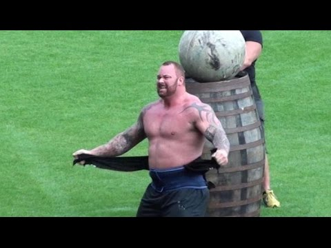 Europe's Strongest Man 2015 - Mountain Wins Again! Hafthor Bjornsson (видео)
