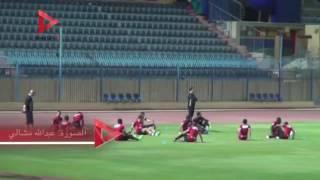 الأهلي يؤدي المران النهائي استعدادا لمواجهة أسوان بالدوري المصري