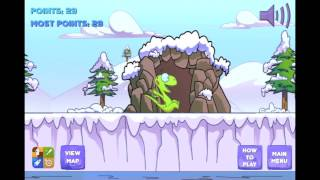 Winter Snow Slide Game Kids YouTube video