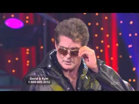 OEyeCu812 - David Hasselhoff and Kym Johnson Dancing with the Stars week 1.
