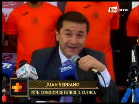 Deportivo Cuenca presentó a los nuevo jugadores