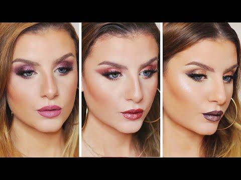 NABLA Dreamy Palette : 3 LOOK   Make up Tutorial Trucco Occhi, Viso e Labbra