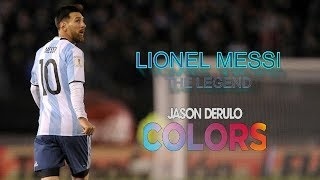 Messi Skills 2018- ARGENTINA -Jason Derulo - Colors- FIFA 2018 ANTHEM
