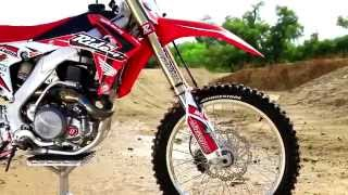 9. 2015 Ride Eng CRF450 Bike Test with Kyle Lewis