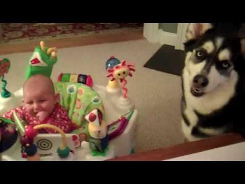 老爸示範怎麼樣讓小嬰兒不再哭泣~