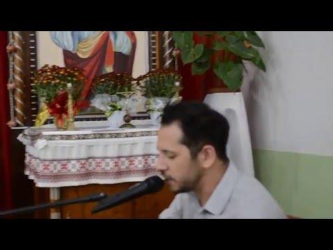 Mikelangelo Tolin - Canta em casamento de Jeferson e Tatiana em Roncador Pr