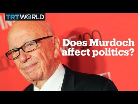 Does Rupert Murdoch set political agendas?