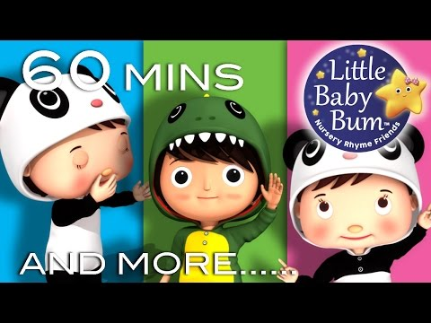Wind The Bobbin Up | Plus Lots More Nursery Rhymes | 60Minutes Compilation From LittleBabyBum!