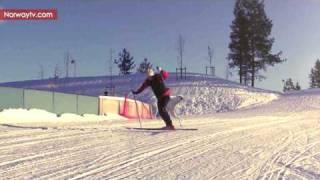 Skier Gets A Polar Scare
