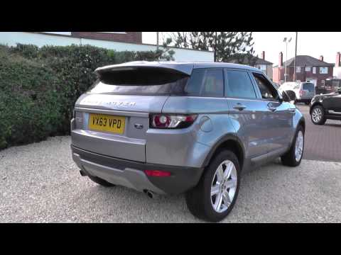 Land Rover Range Rover Evoque 5 Door Diesel 2013MY 2.2 SD4 Pure TECH Auto U9096