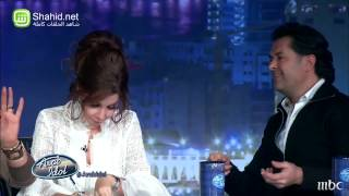 Arab Idol - تجارب الاداء - لحظات دبي: راغب و أحلام, و أحلام و راغب
