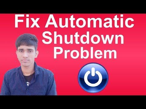 How to Fix Automatic Shutdown Problems in Windows | Shubham Jangid